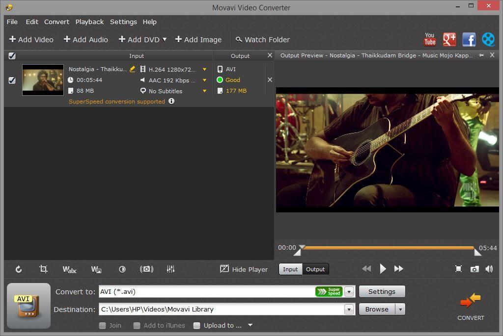 Movavi Video Converter Video Intro