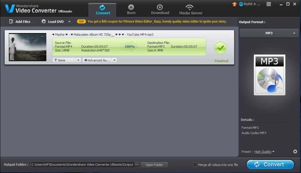 Wondershare-Video-Converter-Ultimate-Converting