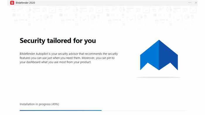 Bitdefender Total Security 2020 installation