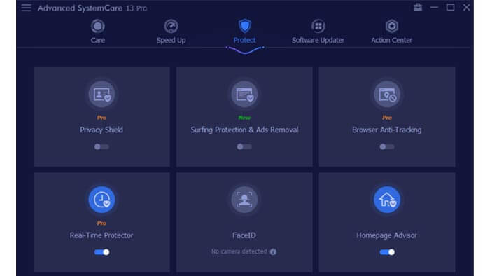 Advanced SystemCare 13 Pro review: Protect Module