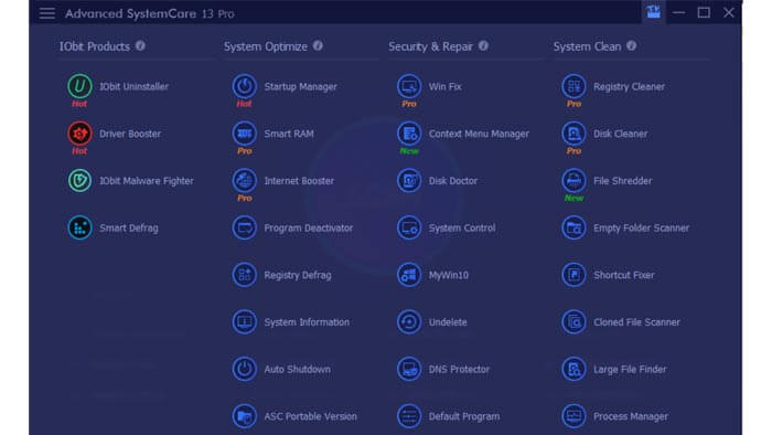 Advanced SystemCare 13 Pro review: Toolbox applications