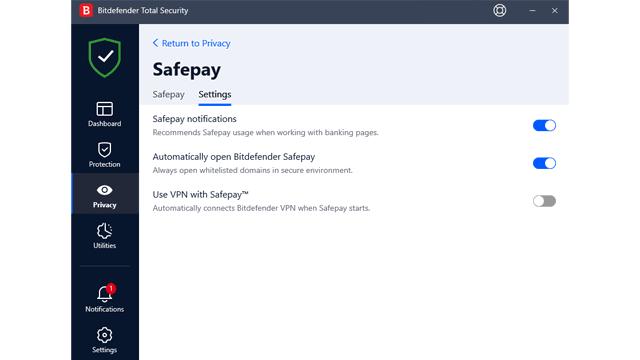 Bitdefender Safepay Review