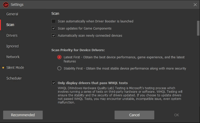 Driver Booster Pro Scan