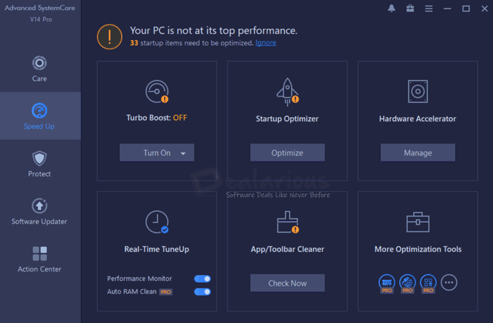 Advanced SystemCare 14 Pro Speedup