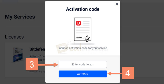 Add license to Central Account