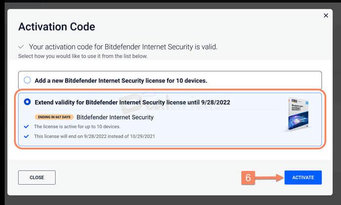 Merged Bitdefender Subscription
