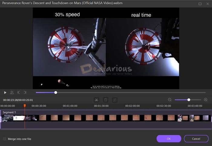 Video editing options in Wondershare Uniconverter