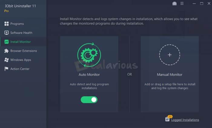 Program Install Monitor